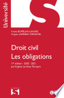 Droit Civil Les Obligations 17e Ed