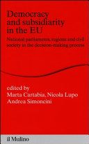 Democracy And Subsidiarity In The Eu