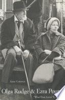 Olga Rudge   Ezra Pound