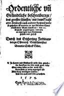 Ordentliche und Gründtliche Beschreibunge des grossen schiessen mit dem Stahl oder Armburst ... in Zwickaw