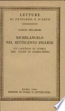 Michelangelo nel settecento inglese