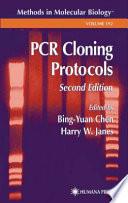 Pcr Cloning Protocols book