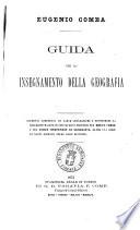 Guida per lo insegnamento della geografia Eugenio Comba