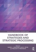 Handbook of Strategies and Strategic Processing