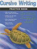Cursive Writing Practice Book Flash Kids Harcourt Family Learning  book