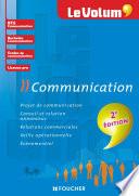 Le Volum  Communication   2e   dition