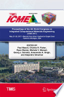 Proceedings of the 4th World Congress on Integrated Computational Materials Engineering  ICME 2017