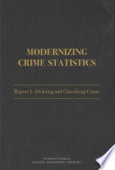 Modernizing Crime Statistics book