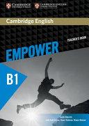 Cambridge English Empower Pre intermediate Teacher s Book