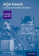 AQA a Level French: Grammar and Translation Workbook