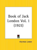 Book of Jack London 1921