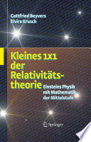 Kleines 1x1 der Relativitätstheorie