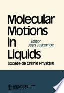 Molecular Motions in Liquids