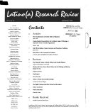Latino a  Research Review