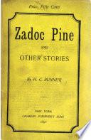 Zadoc Pine Book PDF