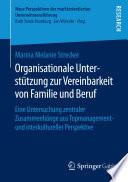 Organisationale Unterstützung zur Vereinbarkeit von Familie und Beruf