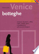 Venezia  Botteghe E Dintorni  Ediz  Inglese