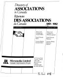 Directory of Associations in Canada