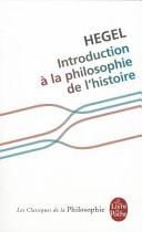 Introduction La Philosophie De L Histoire