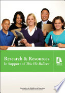 Research   Resources in Support of This We Believe