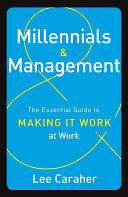 Millennials   Management