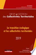 Droit Et Gestion Des Collectivit S Territoriales 2019