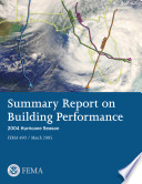 Summary Report on Building Performance