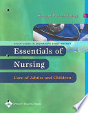Study Guide to Accompany Essentials of Nursing