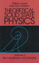 Theoretical Solid State Physics