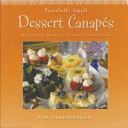 Tastefully Small Dessert Canapes