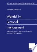 Wandel Im Personalmanagement