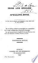 An Irish And English Spelling Book By T Connellan