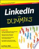 illustration du livre LinkedIn For Dummies