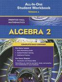 Algebra 2 All In One Student Workbook Version A
