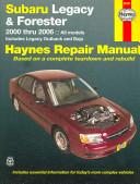 Subaru Legacy   Forester 2000 Through 2006