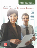 McGraw-Hill's Essentials of Federal Taxation, 2016 Edition with Connect