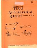 Bulletin of the Texas Archeological Society
