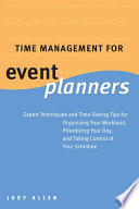 Time Management for Event Planners