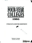 Peterson s Guide to Four Year Colleges  1995 Book and Disk