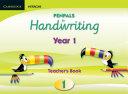 Penpals For Handwriting Year 1 Teacher S Book Enhanced Edition