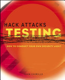 download ebook hack attacks testing pdf epub