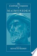 The Cambridge Companion to Maimonides
