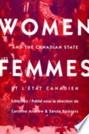 Femmes Et L Tat Canadien