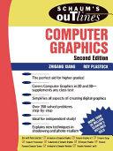 Best Schaum's Outline of Computer Graphics 2/E