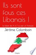 Ils sont fous ces Libanais