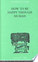 download ebook how to be happy though human pdf epub
