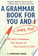 A Grammar Book for You and I   Oops  Me