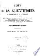 REVUE DES COURS SCIENTIFIQUES