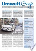 Zeitschrift UmweltBriefe Heft 18/2015