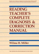Reading teacher s complete diagnosis   correction manual